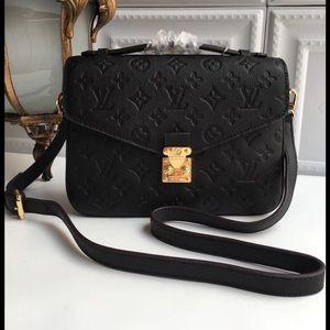 Louis Vuitton black Métis bag